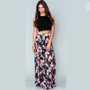 Show Me Your Mumu Princess Di maxi skirt